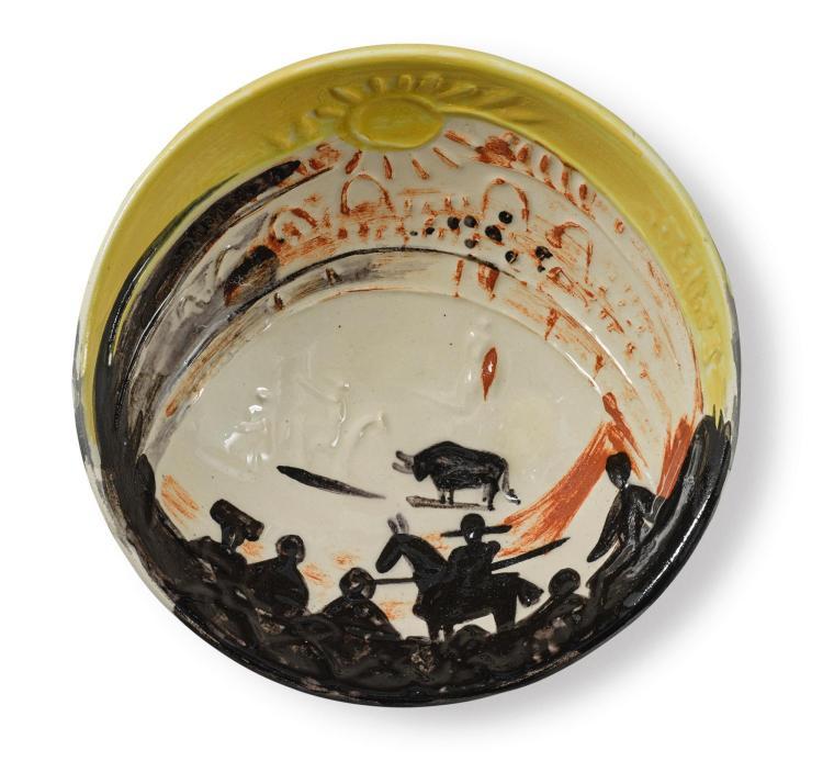 PABLO PICASSO | Scène de tauromachie (A. R. 241)