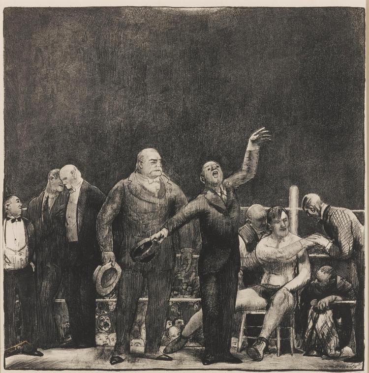 GEORGE BELLOWS | Introducing John L. Sullivan (M. 27)