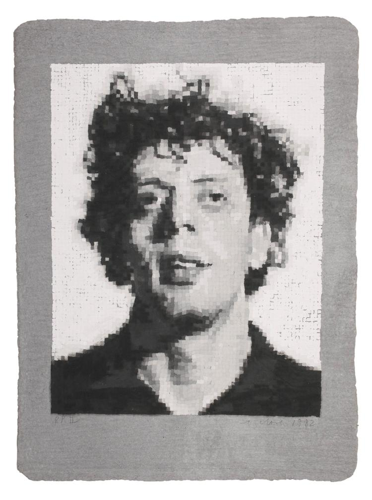 CHUCK CLOSE | Phil/Manipulated (Butler Institute 22)