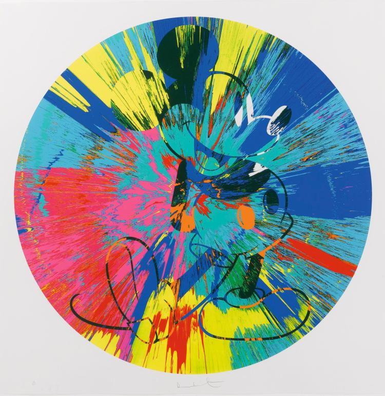 DAMIEN HIRST | Beautiful Mickey