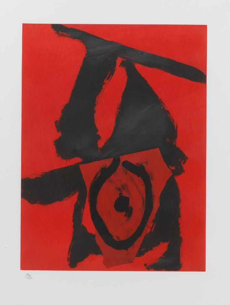 ROBERT MOTHERWELL | The Red Queen (W.A.C. 476)