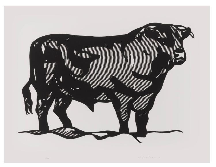 ROY LICHTENSTEIN | Bull Profile (C. 116-121)