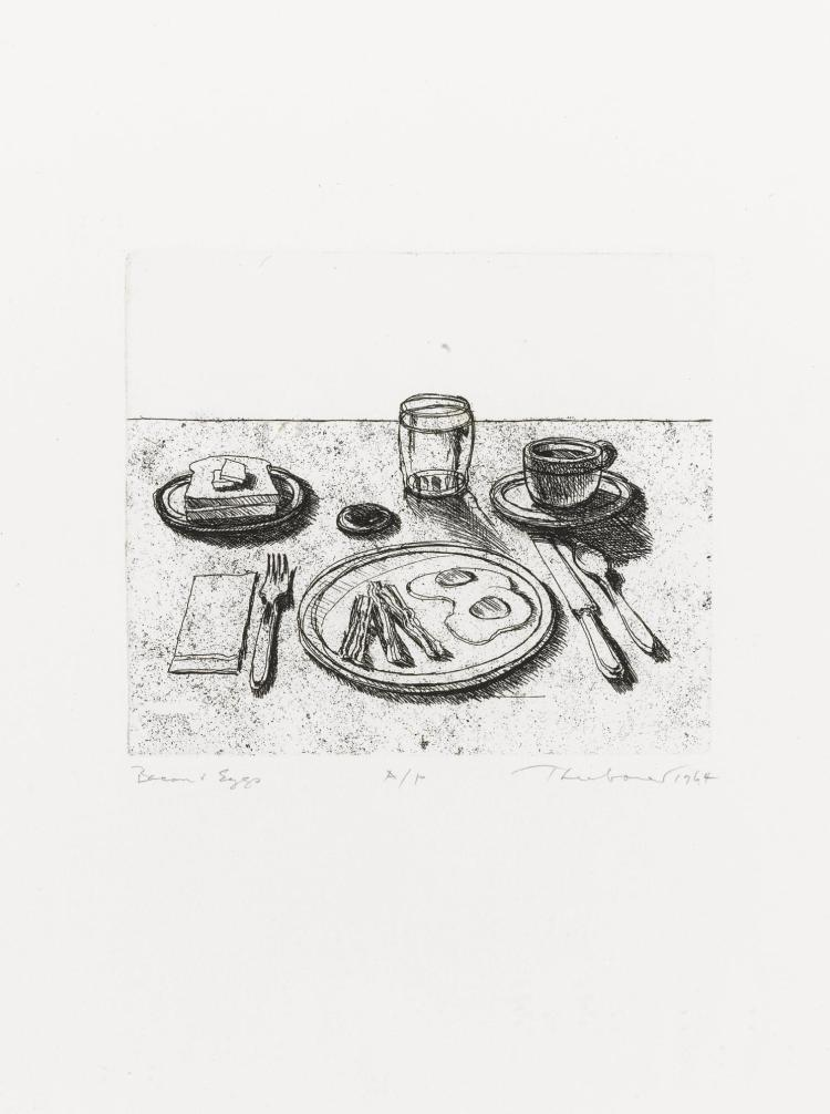 WAYNE THIEBAUD | Bacon and Eggs