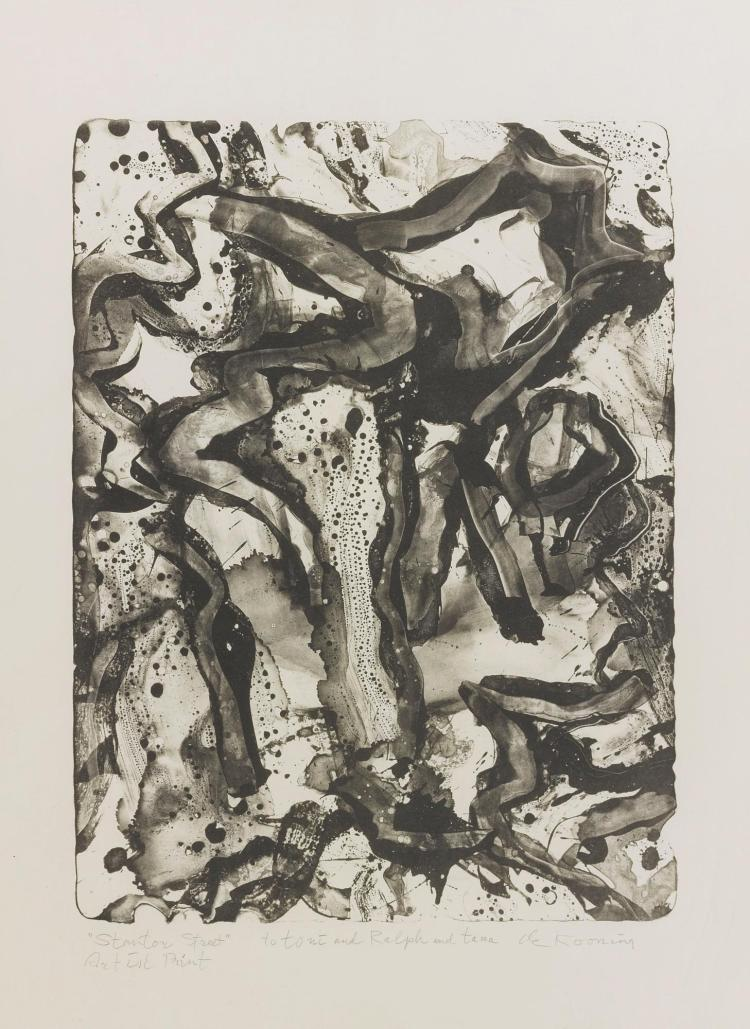 WILLEM DE KOONING | Landscape at Stanton Street (Graham 26)