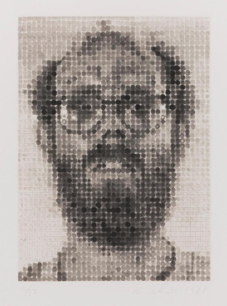 CHUCK CLOSE | Self Portrait (Pernotto 51)