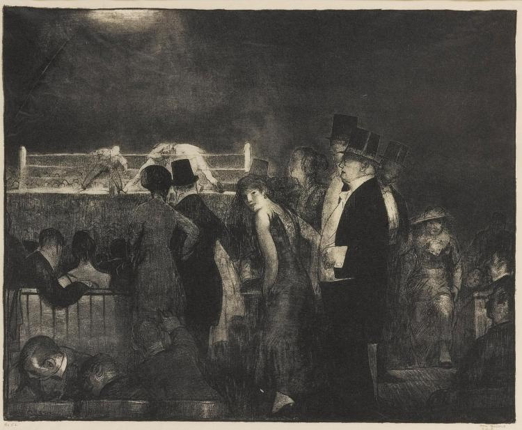 GEORGE BELLOWS | Preliminaries (Mason 24)