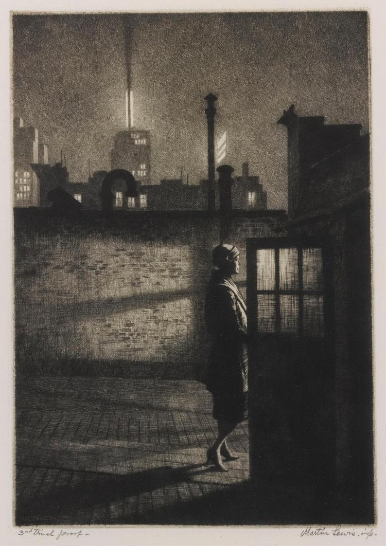 MARTIN LEWIS | Little Penthouse (M. 91)