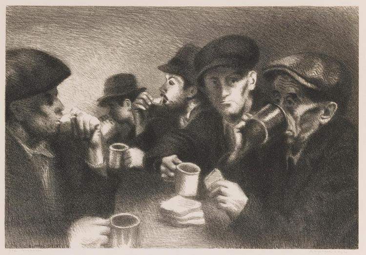 RAPHAEL SOYER | The Mission (Cole 27)