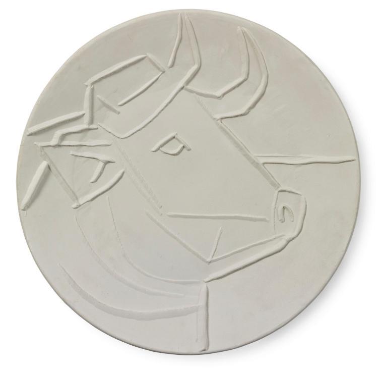 PABLO PICASSO | Tête de taureau (A. R. 329)