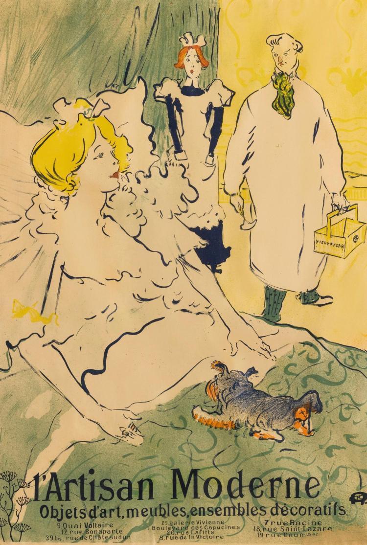 HENRI DE TOULOUSE-LAUTREC | L'Artisan Moderne (D. 350; Adr. 59;W. P24)