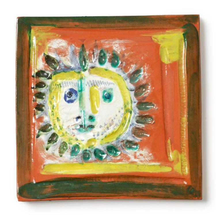 PABLO PICASSO | Petit visage solaire(A. R. 552)