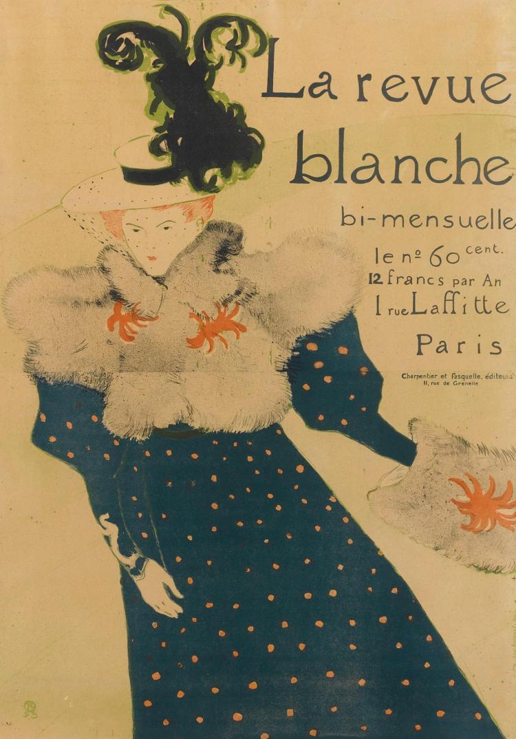 HENRI DE TOULOUSE-LAUTREC | La revue blanche (D. 355; A. 115; W. P16)