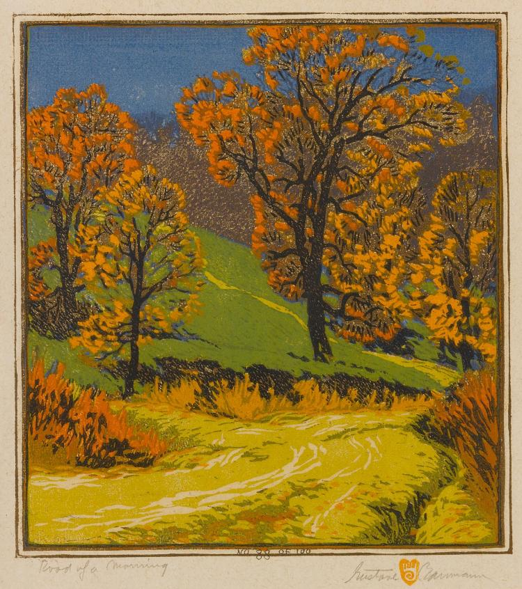 GUSTAVE BAUMANN | Road of a Morning
