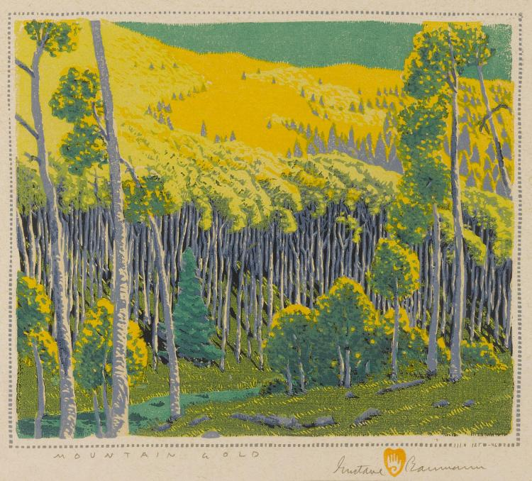 GUSTAVE BAUMANN | Mountain Gold