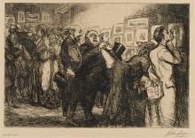 JOHN SLOAN | New York City Life (Morse 127-135, 137, 138,150, 152, 153)
