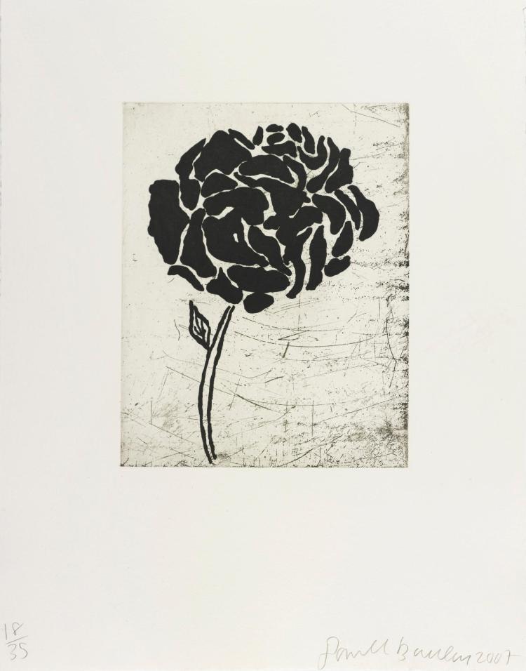 DONALD BAECHLER | Five Flowers