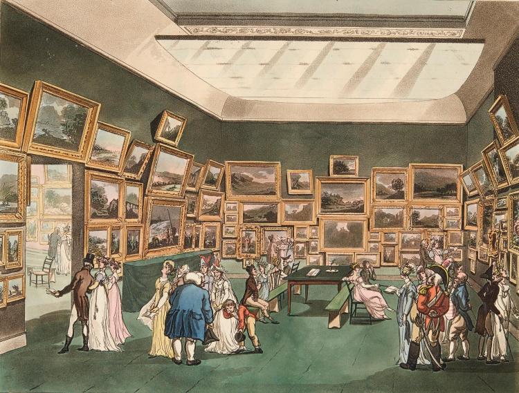 ACKERMANN. THE MICROCOSM OF LONDON. [1808-1810]