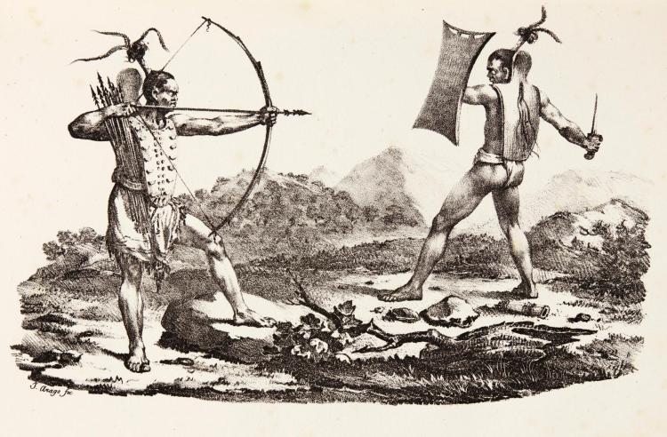 ARAGO. NARRATIVE OF A VOYAGE ROUND WORLD. 1823