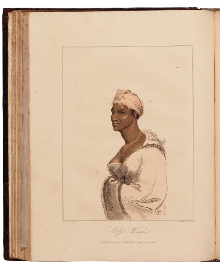 BARROW. TRAVELS INTO THE INTERIOR OF SOUTHERN AFRICA. 1806