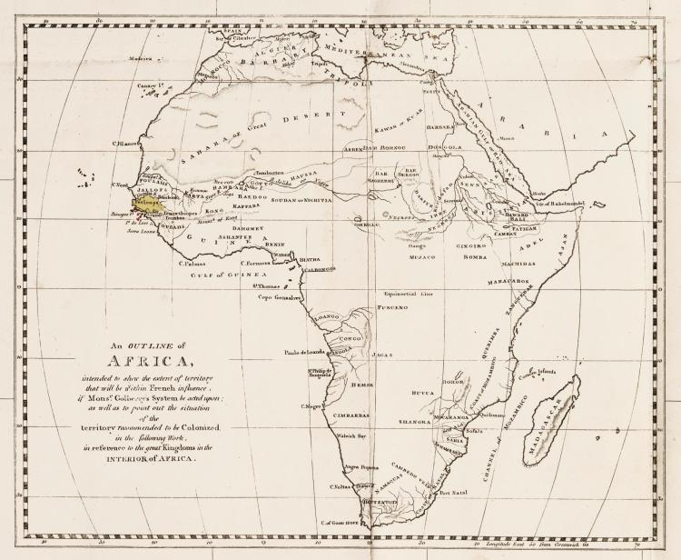 BEAVER. AFRICAN MEMORANDA: RELATIVE TO AN ATTEMPT TO ESTABLISH A BRITISH SETTLEMENT ON THE ISLAND OF BULAMA. 1805