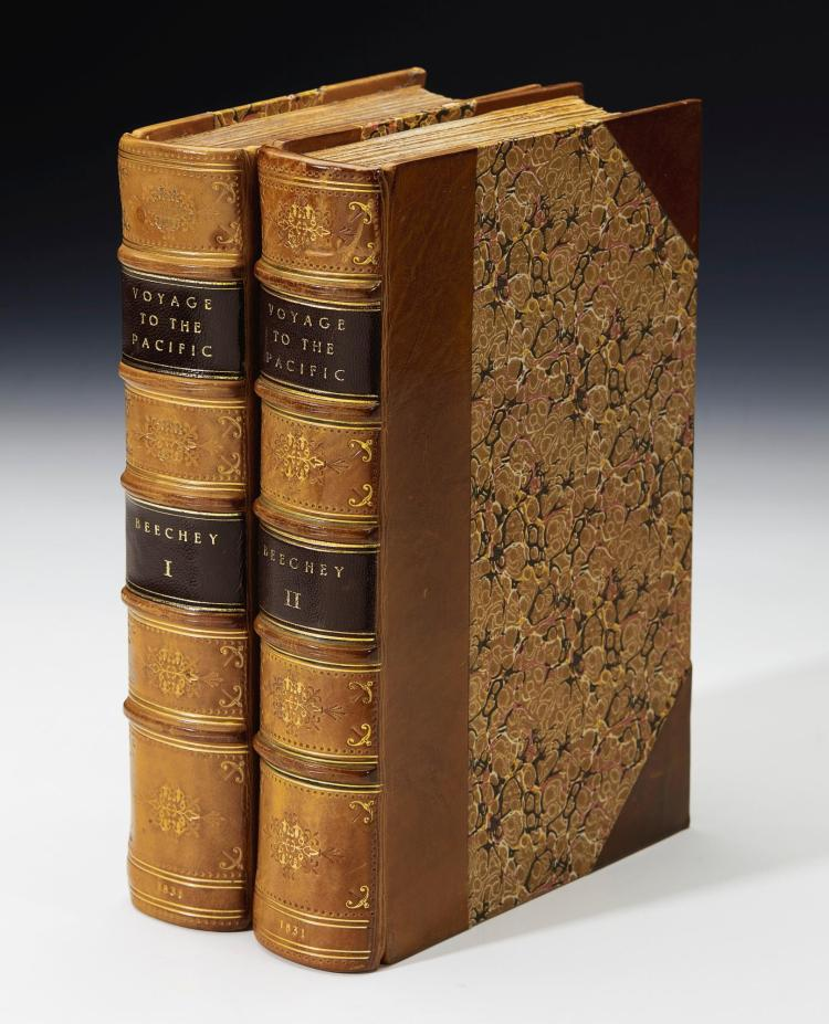 BEECHEY. NARRATIVE OF A VOYAGE TO THE PACIFIC AND BEERING'S STRAIT, TO CO-OPERATE WITH THE POLAR EXPEDITIONS. 1831