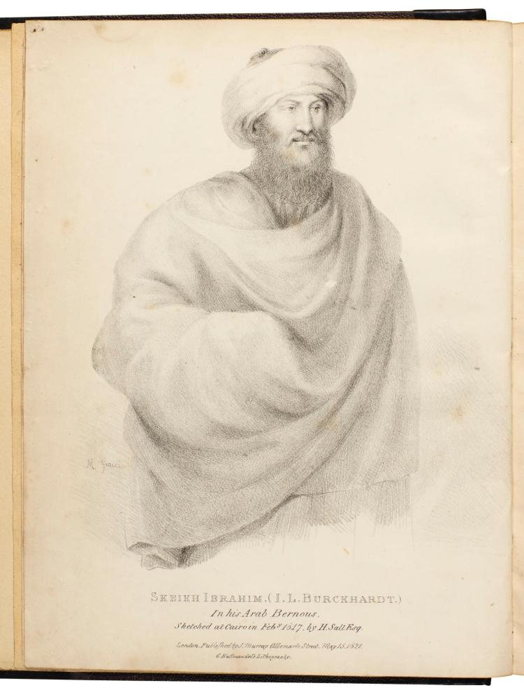 BURCKHARDT. TRAVELS IN SYRIA AND THE HOLY LAND. 1822