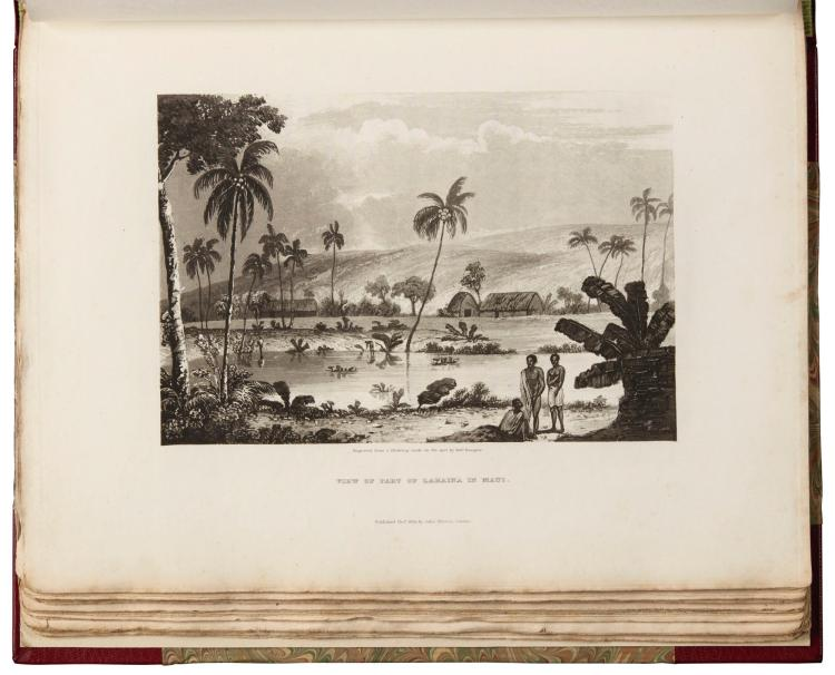 BYRON. VOYAGE OF H.M.S. BLONDE TO THE SANDWICH ISLANDS. 1826