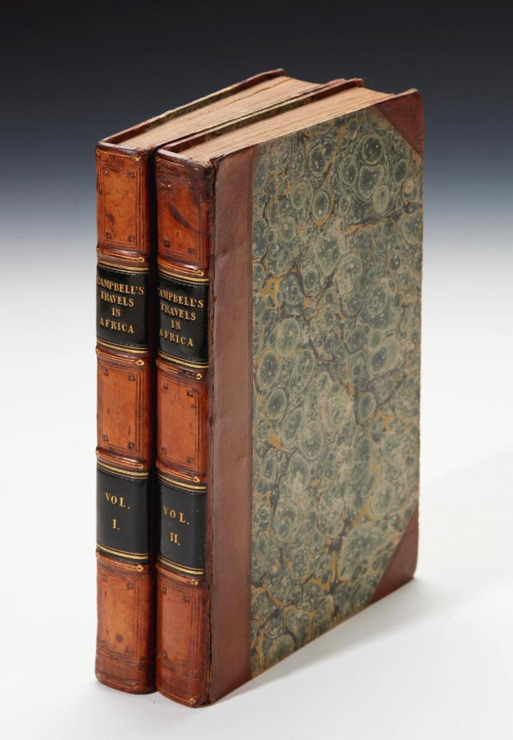 CAMPBELL. TRAVELS IN SOUTH AFRICA. 1822, (2 VOL.)
