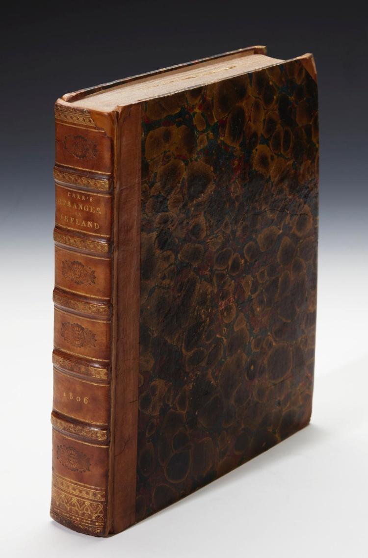 CARR. THE STRANGER IN IRELAND. 1806