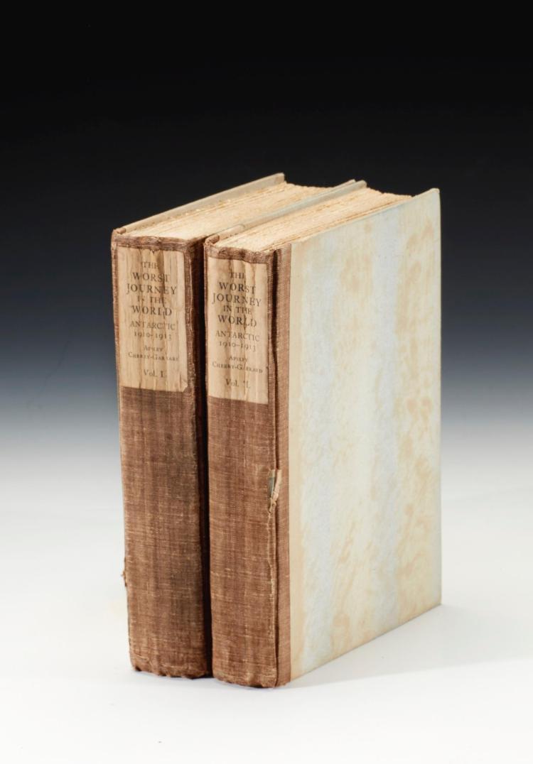 CHERRY-GARRARD. THE WORST JOURNEY IN THE WORLD. ANTARCTIC 1910-1913. [1922]