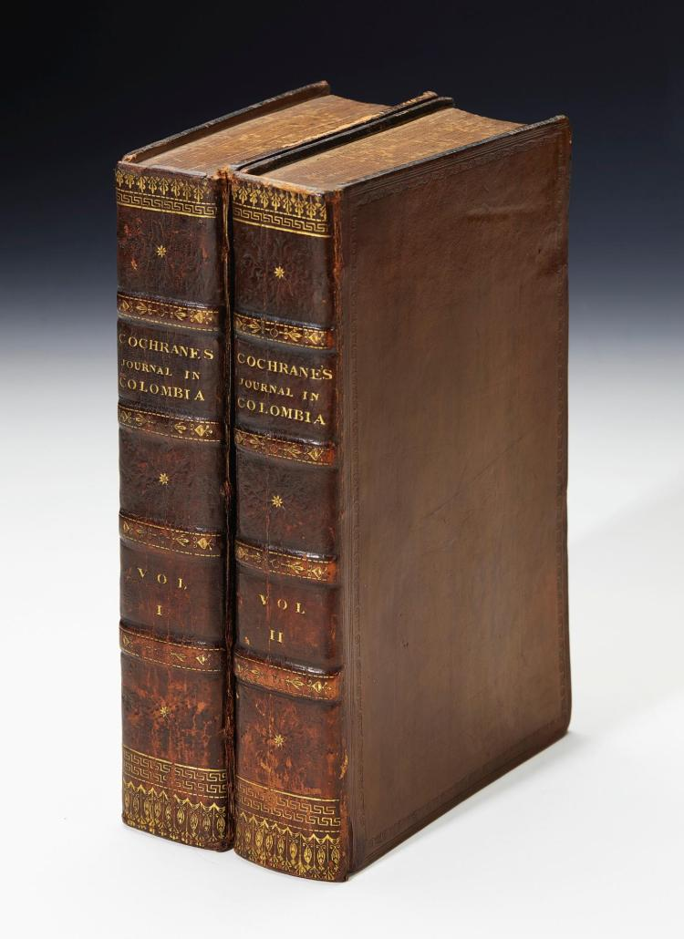 COCHRANE. JOURNAL OF A RESIDENCE AND TRAVELS IN COLUMBIA. 1825