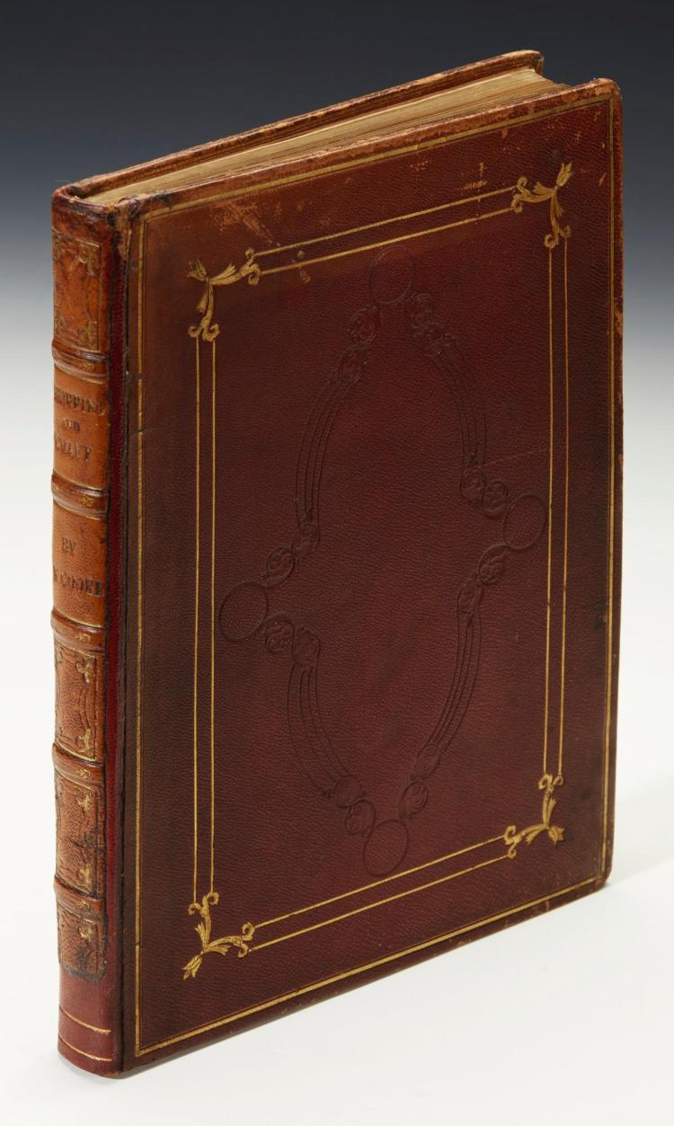 COOKE. FIFTY PLATES OF SHIPPING AND CRAFT. 1829