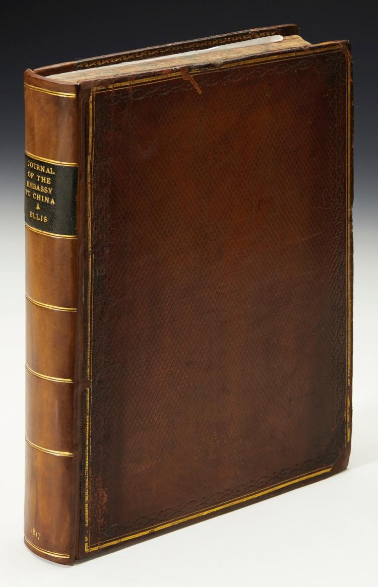 ELLIS. JOURNAL OF THE PROCEEDINGS OF THE LATE EMBASSY TO CHINA. 1817