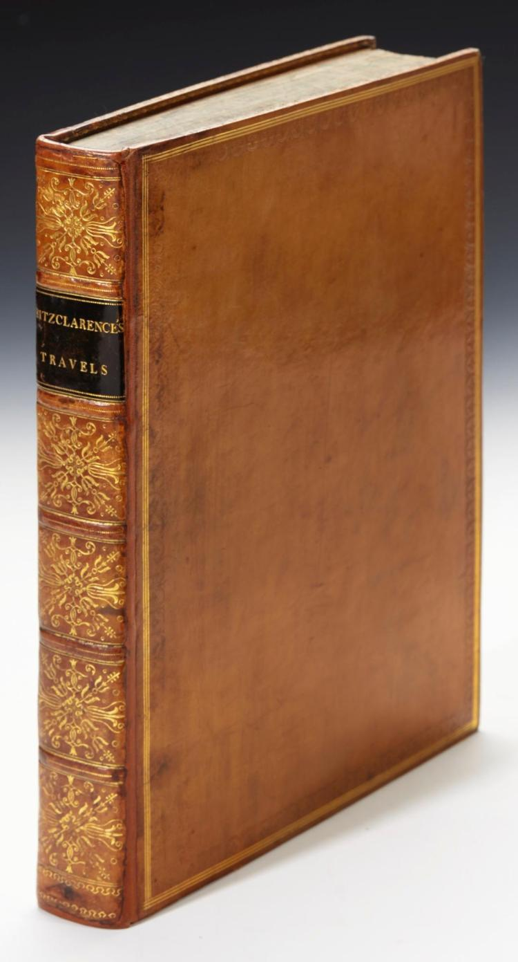 FITZCLARENCE. JOURNAL OF A ROUTE ACROSS INDIA, THROUGH EGYPT, TO ENGLAND. 1819