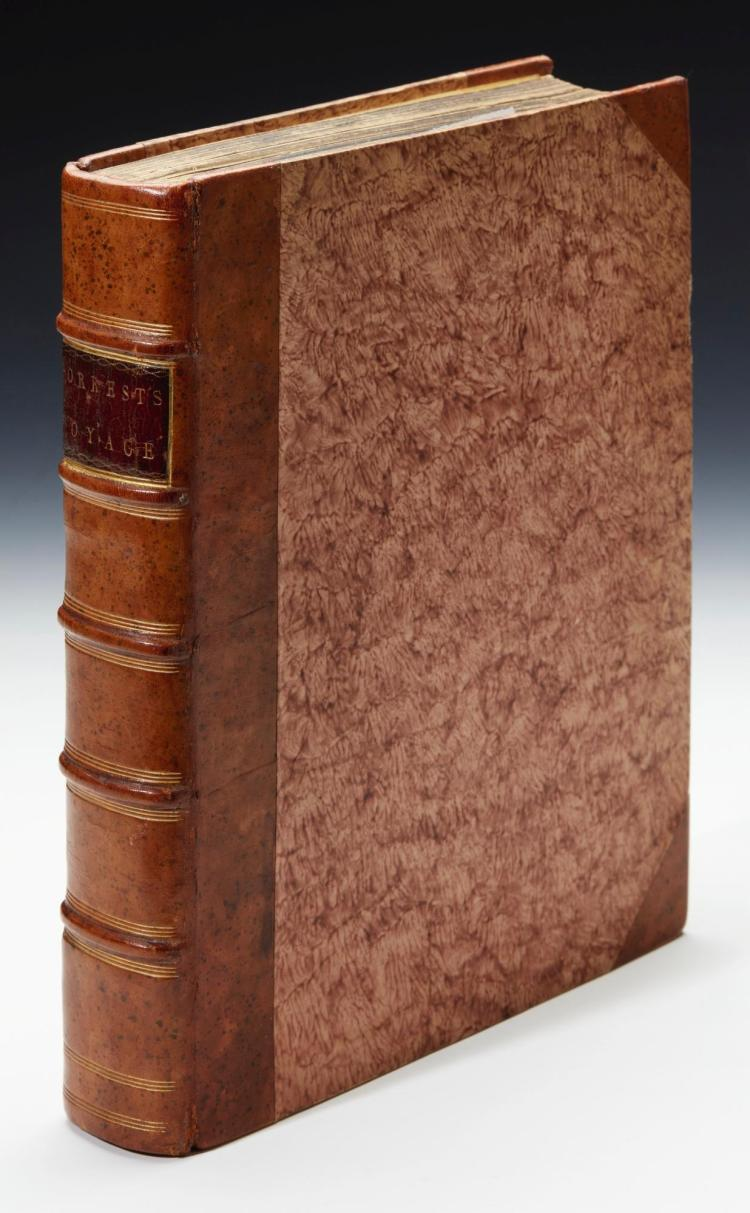 FORREST. A VOYAGE TO NEW GUINEA AND THE MOLUCCAS. 1779