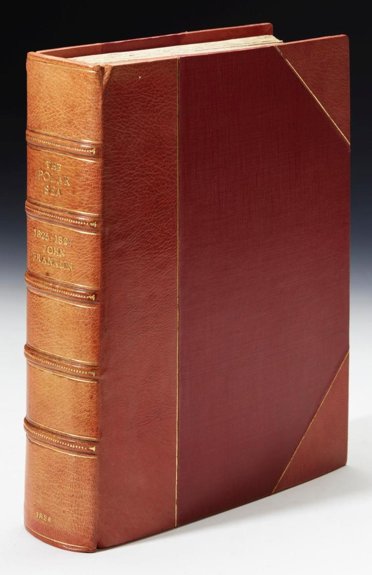 FRANKLIN. NARRATIVE OF A SECOND EXPEDITION TO THE SHORES OF THE POLAR SEA. 1828