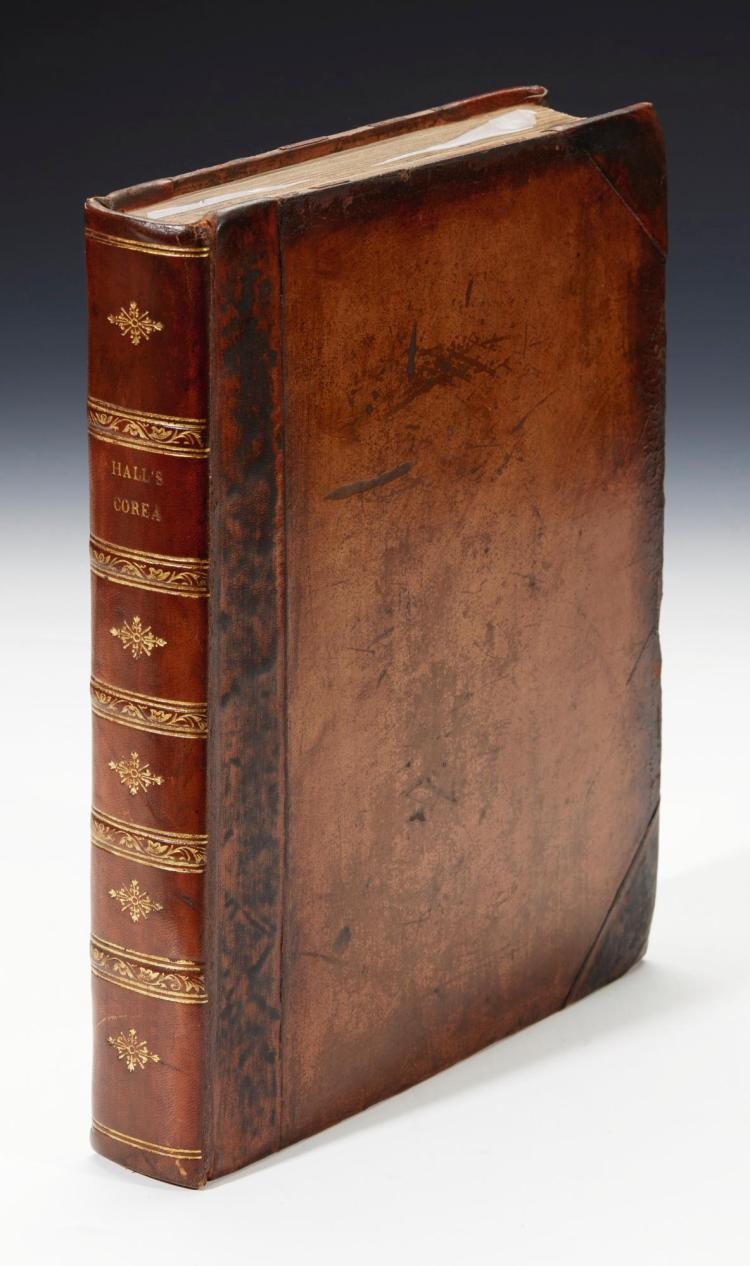 HALL. ACCOUNT OF A VOYAGE OF DISCOVERY TO THE WEST COAST OF COREA, AND THE GREAT LOO-CHOO ISLAND. 1818