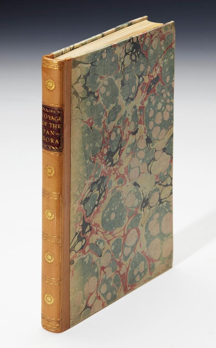 HAMILTON. A VOYAGE ROUND THE WORLD, IN HIS MAJESTY'S FRIGATE PANDORA. 1793