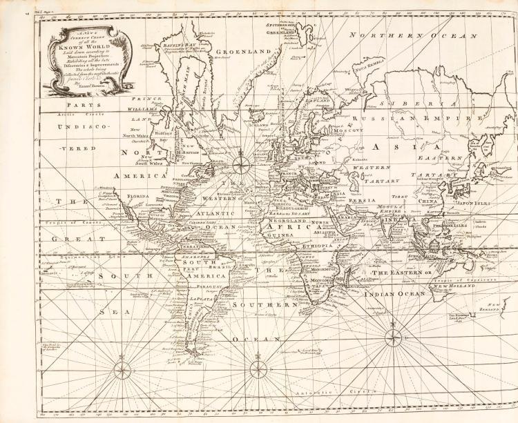 HARRIS. NAVIGANTIUM, 1744-48. (2 VOL.)