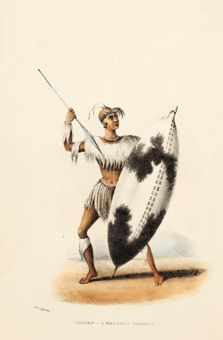 HARRIS. THE WILD SPORTS OF SOUTHERN AFRICA. 1852