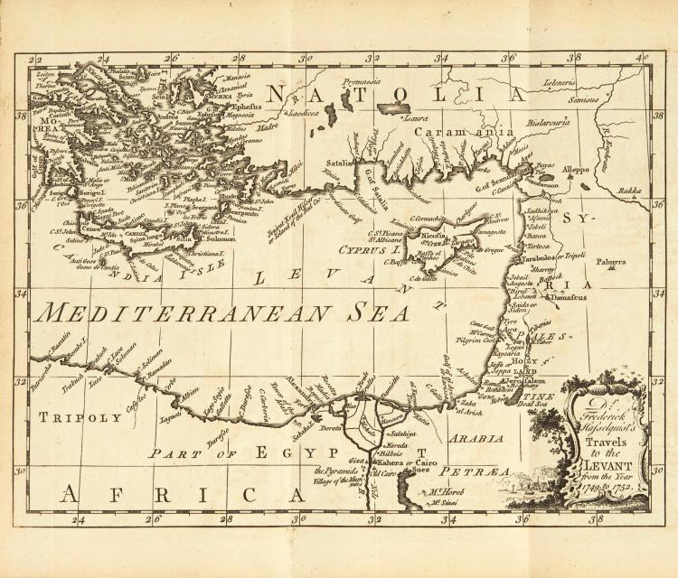 HASSELQUIST. VOYAGES AND TRAVELS IN THE LEVANT. 1766