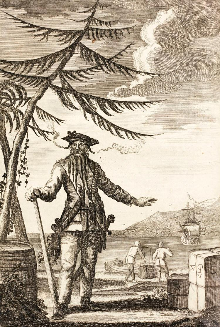 JOHNSON. A GENERAL HISTORY OF THE LIVES AND ADVENTURES OF THE MOST FAMOUS HIGHWAYMEN. 1742