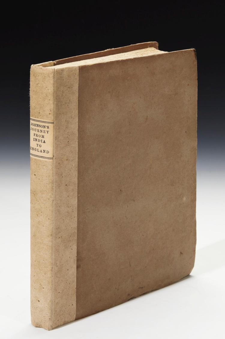 JOHNSON. A JOURNEY FROM INDIA TO ENGLAND. 1818