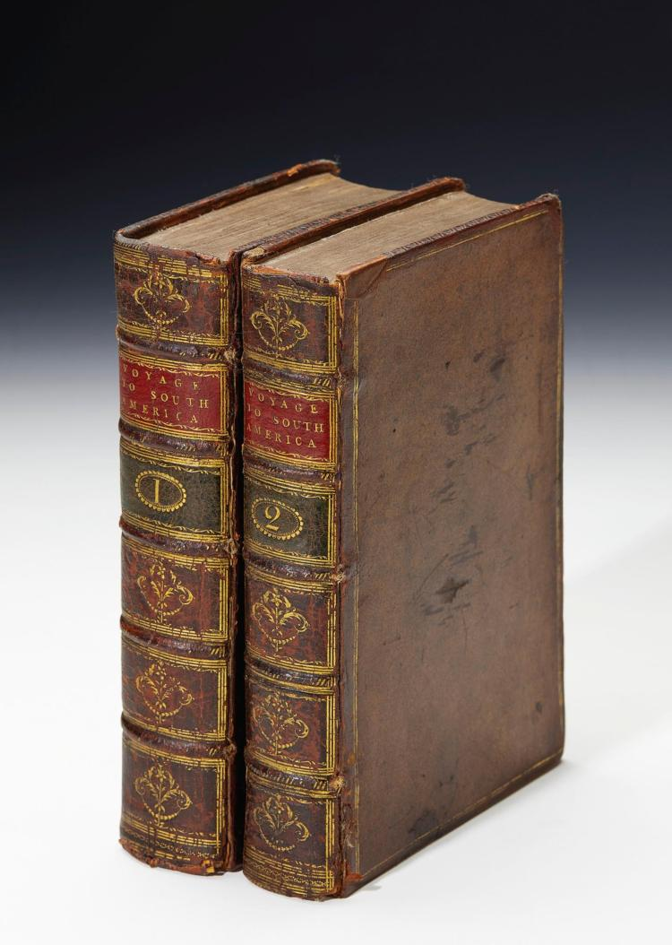 ULLOA AND JUAN. A VOYAGE TO SOUTH-AMERICA. 1758, (2 VOL.)