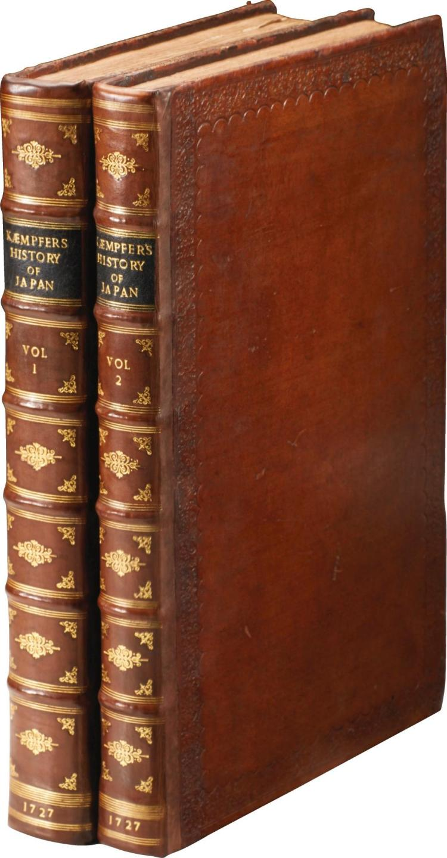 KAEMPFER. JAPAN. 1728-1727, (2 VOL.)