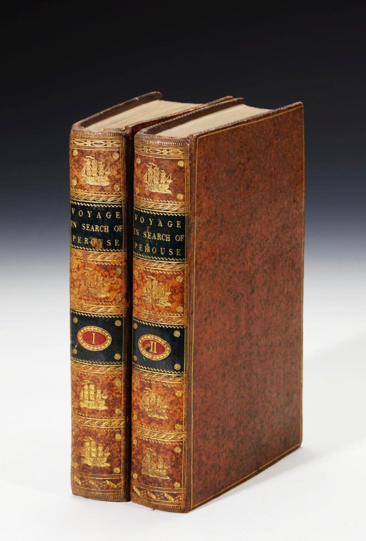 LABILLARDIERE. VOYAGE IN SEARCH OF LA PEROUSE, 1800, (2 VOL.)