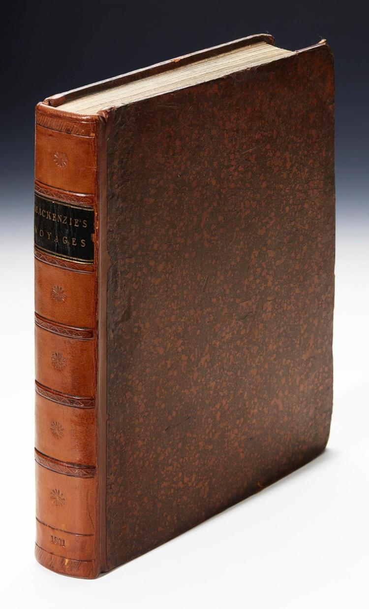 MACKENZIE. VOYAGES FROM MONTREAL, ON THE RIVER ST. LAURENCE, THROUGH... NORTH AMERICA. 1801