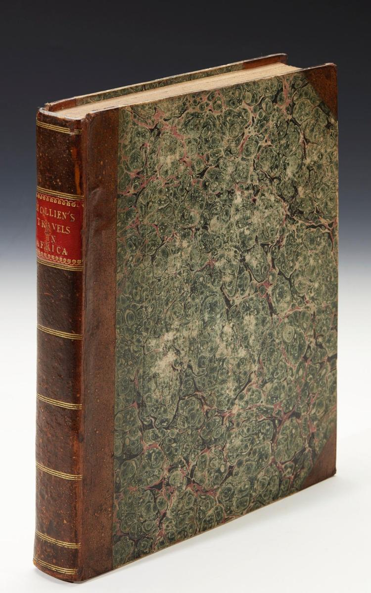 MOLLIEN. TRAVELS IN THE INTERIOR OF AFRICA. 1820