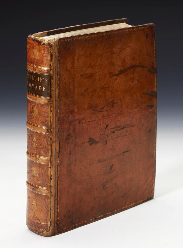 PHILLIP. THE VOYAGE OF GOVERNOR PHILLIP TO BOTANY BAY. 1789