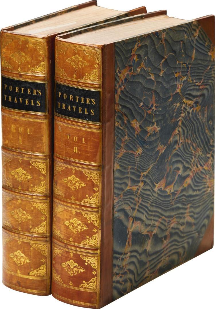 PORTER. TRAVELS IN GEORGIA, 1821, (2 VOL.)